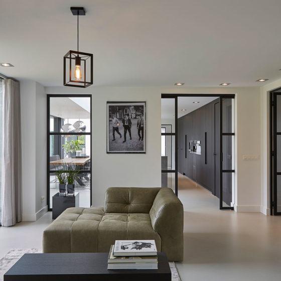Villa zitruimte Urban velvet design