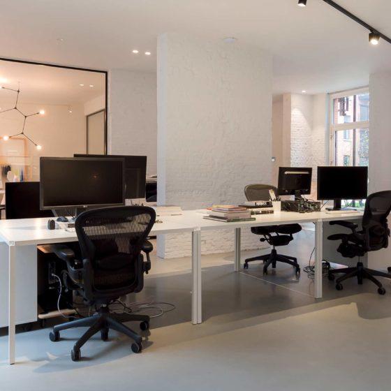 Living Concrete kantoor bureau