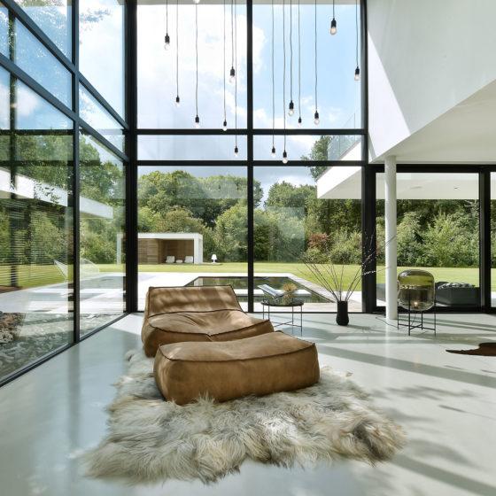 Living concrete open ruimte