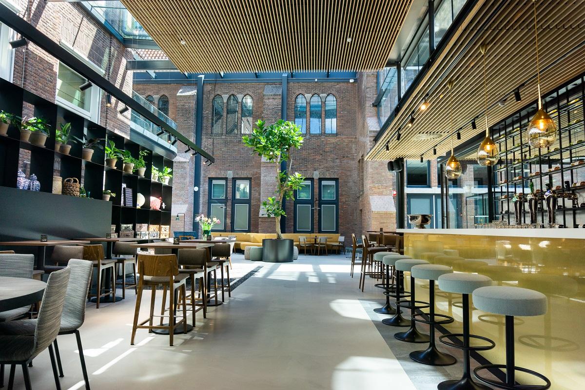 Urban Velvet Betonlook horeca restaurant