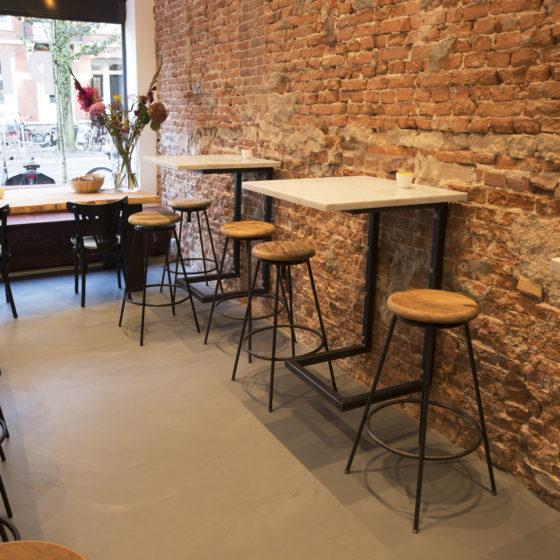 DRT Corestone restaurant betonlook troffelvloer